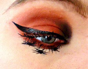Spider Halloween Eye Makeup