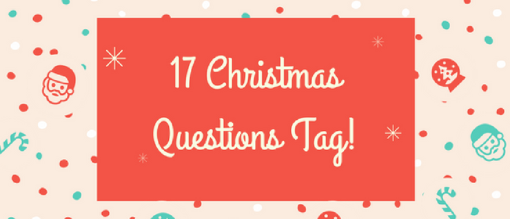 17 Christmas Questions tag