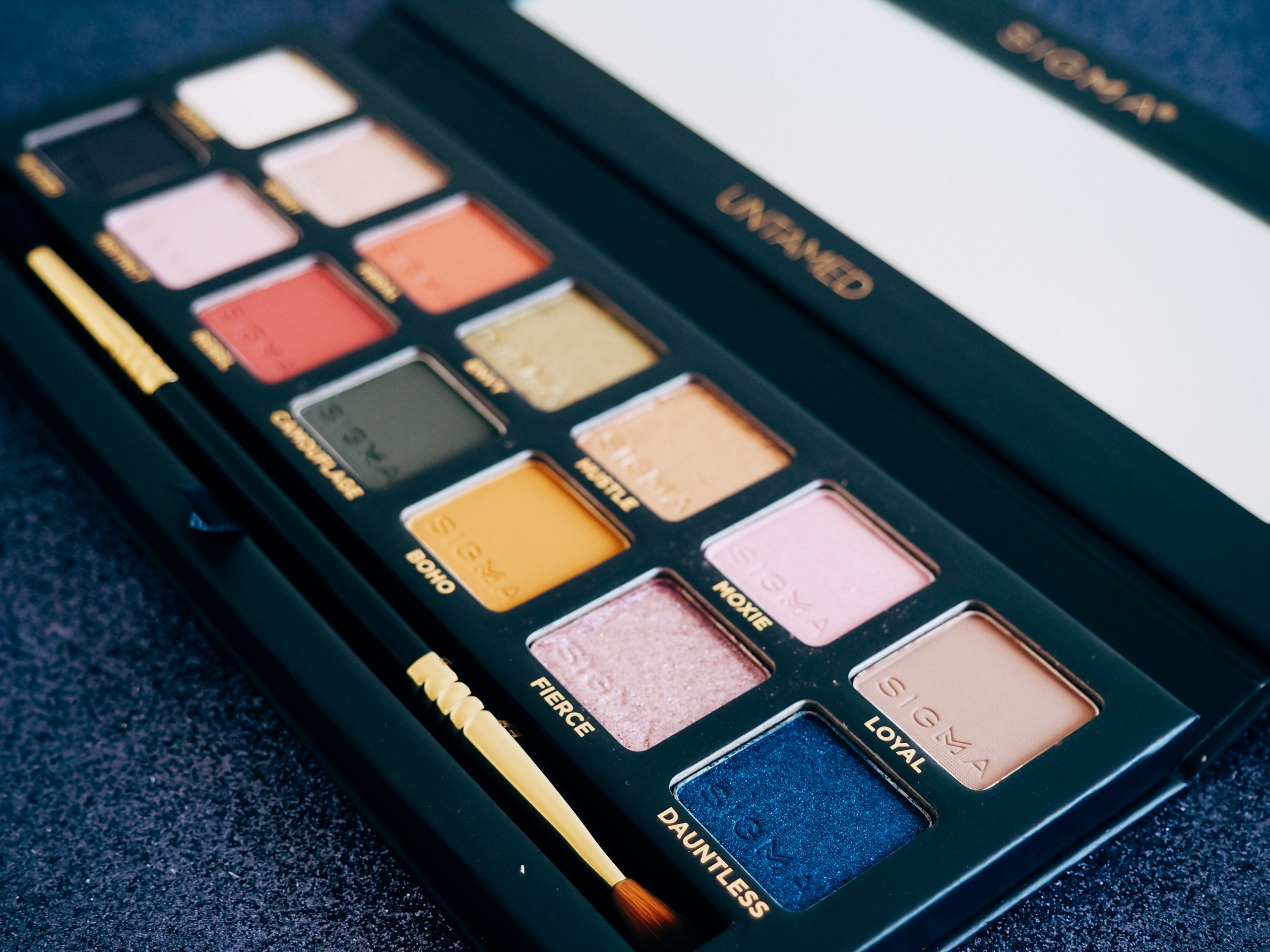 sigma beauty untamed palette